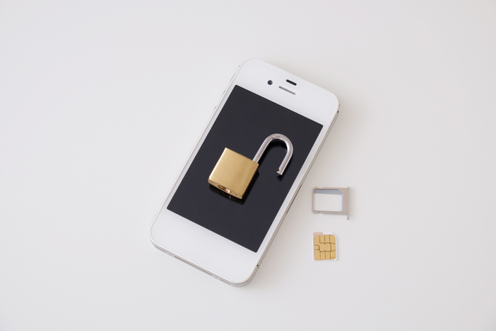 SIMのロック解除について