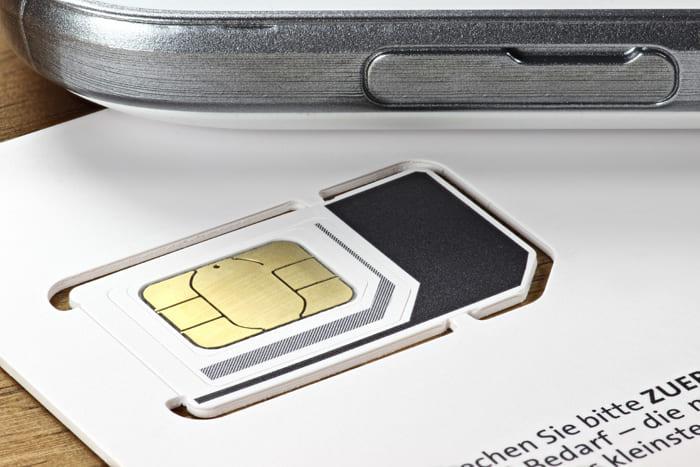新品のSIMカード画像