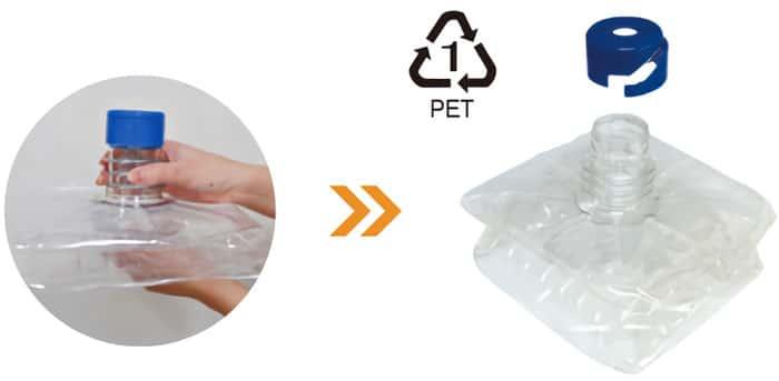 使い切りボトルで衛生的&便利!