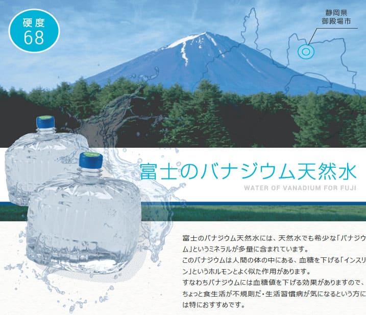 富士のバナジウム天然水